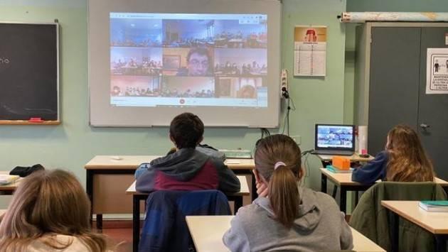 Cremona Galimberti incontra a distanza gli alunni scuola Anna Frank