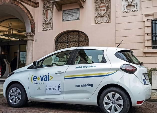 Crema consegnata prima auto elettrica car sharing