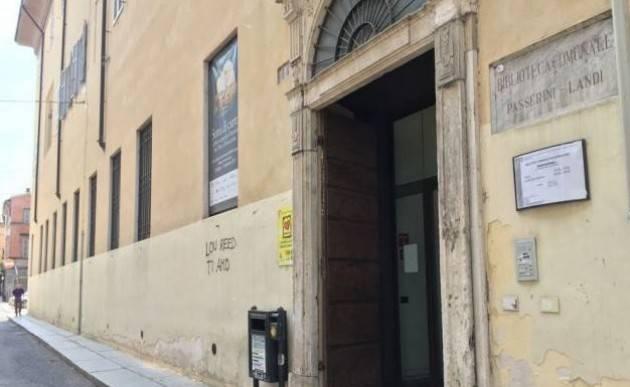 Piacenza Ermanno Mariani giornalista e scrittore  alla Passerini Landi il 23/12