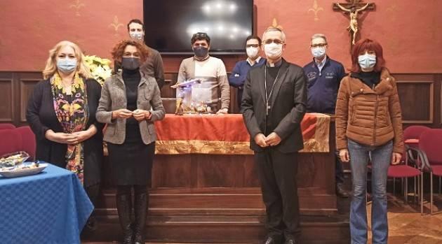 Crema Giunta  ha incontrato a S.E. Daniele Gianotti, Vescovo per auguri Natale