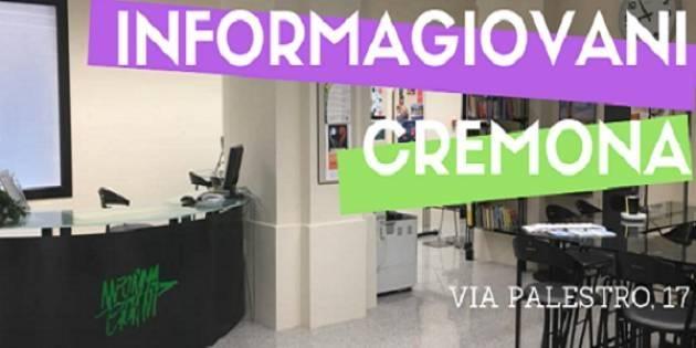 Cremona Chiusura dello sportello Informagiovani per le festività natalizie