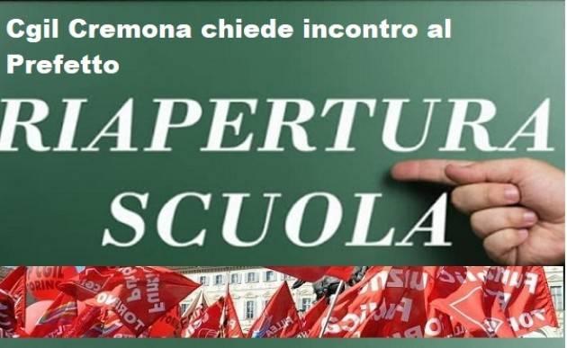 Riapertura scuole 7/01/2021: la Cgil chiede convocazione al Prefetto di Cremona