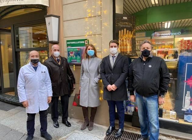 Tre nuovi defibrillatori alla città di Piacenza