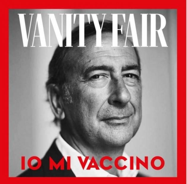 Sindaco Sala primo testimonial campagna Vanity Fair