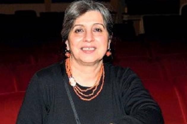 Cremona Angela Cauzzi, SOVRINTENDENTE TEATRO A. PONCHIELLI, saluta il pubblico