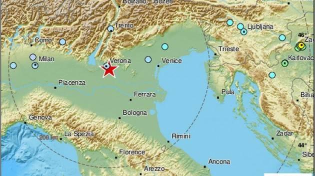 Scossa di terremoto in Croazia avvertita a Bisceglie