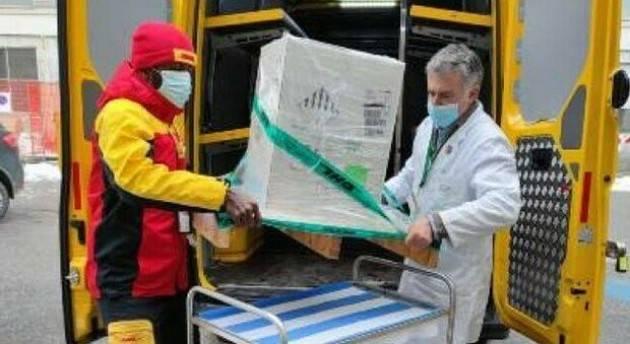 Lombardia è la regione con più dosi di vaccini consegnate