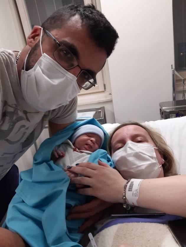 Asst Crema il Primo nato a Crema del 2021è Francesco Hugo