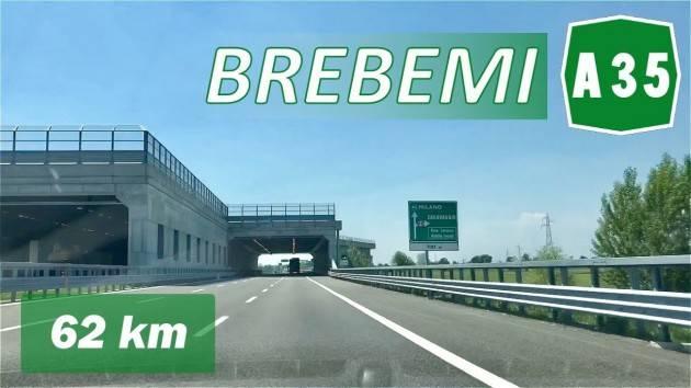 A35 Brebemi, confermati per 2021 sconti 20% per Telepass e 30% per veicoli green