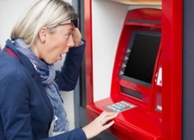 Dal 1° gennaio 2021 chi va in rosso anche di soli 100€ potrà vedersi bloccato il conto corrente