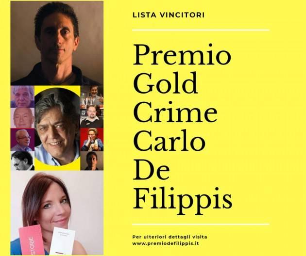 PREMIO GOLD CRIME CARLO DE FILIPPIS ASPETTANDO LA SECONDA EDIZIONE