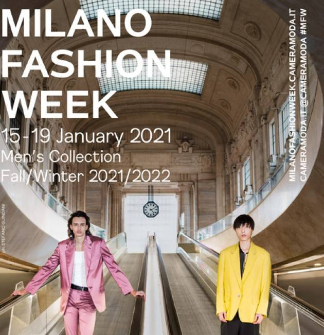 A Milano Moda Uomo 40 brand, 4 sfilano dal vivo