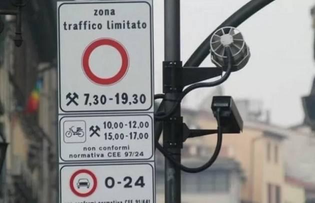 Crema  10mila sanzioni videosorveglianza ZTL dal 3 giugno al 31 dicembre 2020