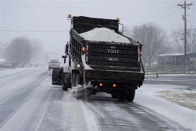 Piacenza Allerta gelo; pronto il piano per la salatura preventiva delle strade.