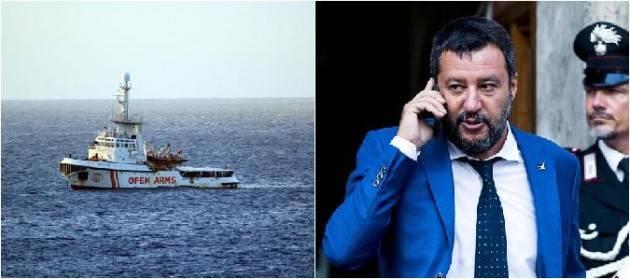 Salvini a processo per il caso Open Arms