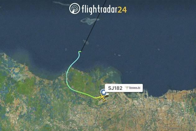 Aereo della Sriwijaya Air sparisce dai radar con 62 persone a bordo