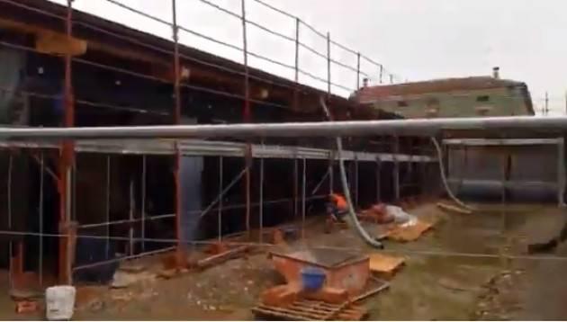 Cremona Nuova scuola infanzia di S. Felice, lavori avanti a pieno ritmo (Video)