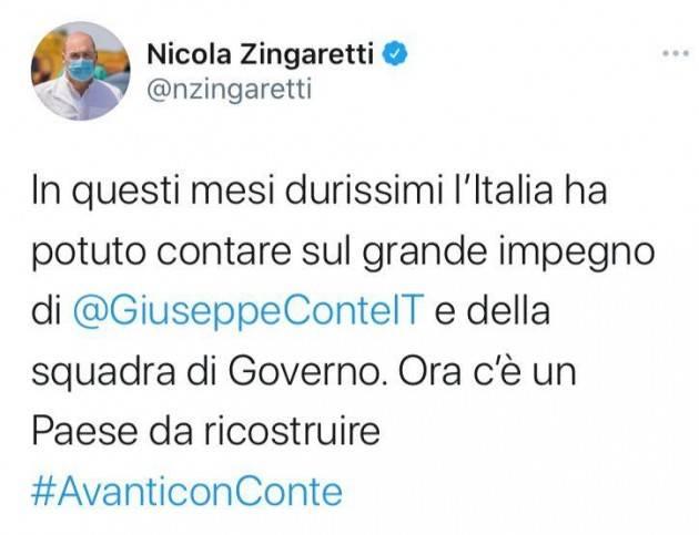 Nicola Zingaretti Crisi di Governo: un atto contro l'italia. Le opinioni nel PD cremonese