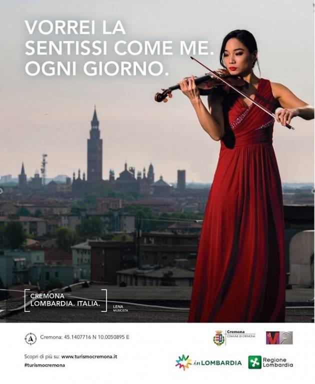 Cremona Il Comune ha lanciato via web la campagna 'Cremona is Music'