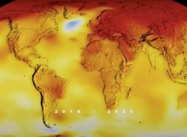 Anche per la NASA il 2020 è stato l'anno più caldo mai registrato