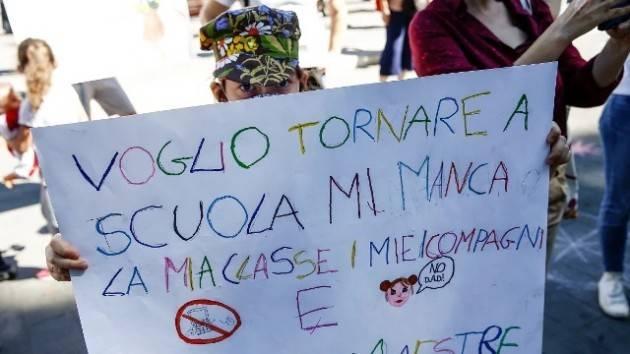 Pandemia  DaD non regge Ritornare scuola in presenza| E.Coti Zelati (Crema)