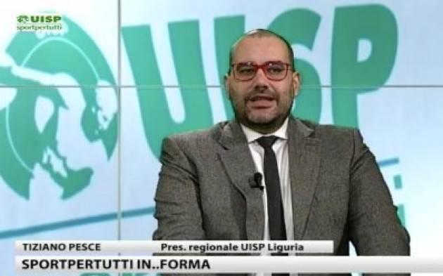 UISP Tiziano Pesce su Primocanale: la promozione sportiva rischia di sparire