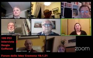 SPECIALE 100 ANNI PCI INTERVISTA A SERGIO COFFERATI: Forum Idee Cremona (video)