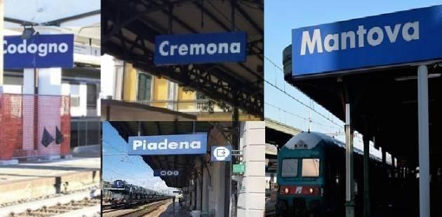 CREMONA RADDOPPIO FERROVIA COD-CR-MN:AL GOVERNO VA MESSO RECOVERY PLAN