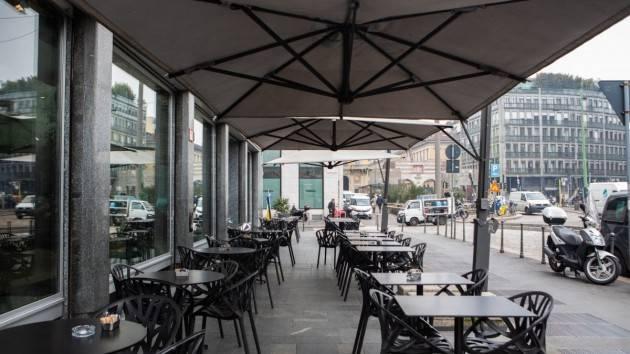 Stop bar e ristoranti Lombardia, -250 milioni in cibo