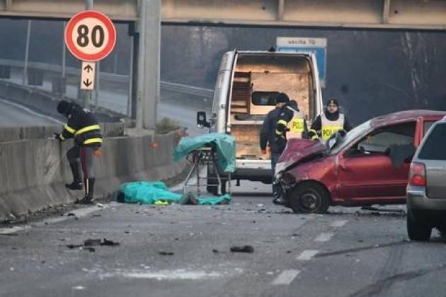 Incidente a Zibido San Giacomo, un morto e due feriti