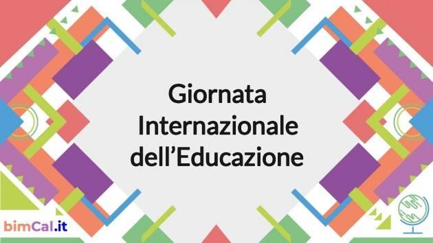 IL CNDDU 24 gennaio celebra la seconda Giornata internazionale dell'Educazione.