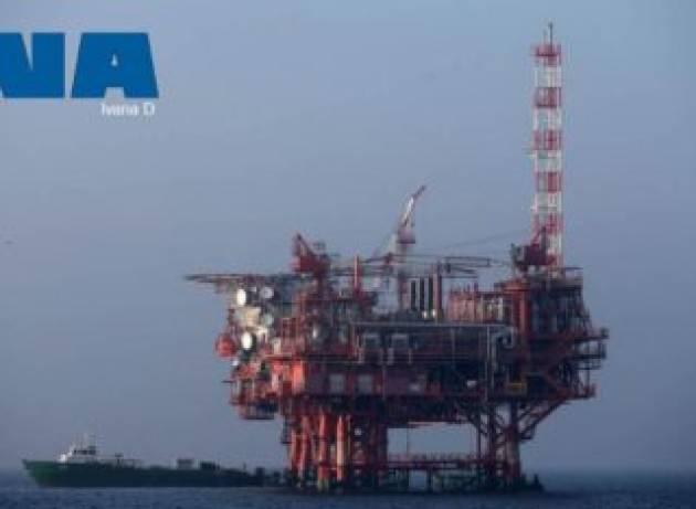 Sversamento di idrocarburi dopo l'affondamento di una piattaforma in Adriatico?