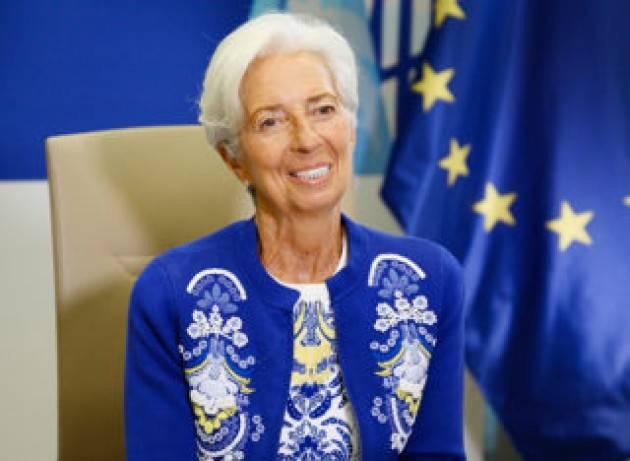 La Bce scende in campo contro il cambiamento climatico