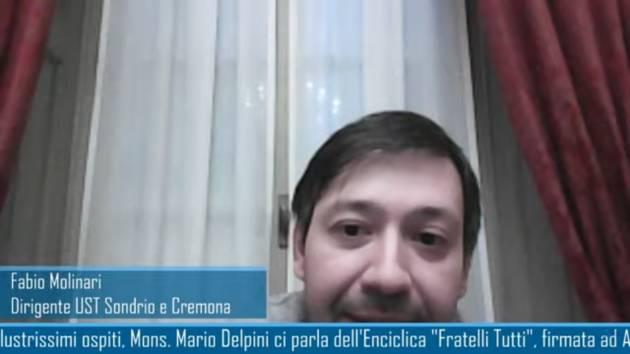 UST Cremona In 'Fratelli tutti' Bergoglio chiama a una nuova idea di comunità