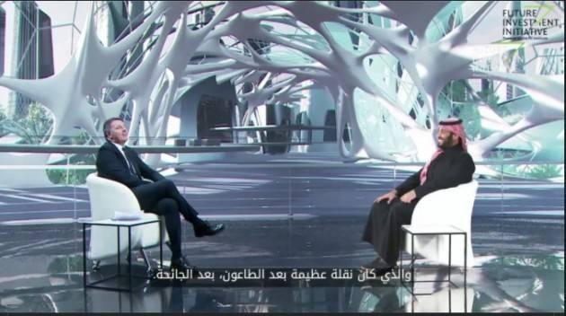 Renzi tesse le lodi di Mohammad bin Salman Al Sa'ud | Senso Comune