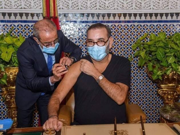 Sua Maestà il Re Mohammed VI lancia la campagna di vaccinazione in Marocco