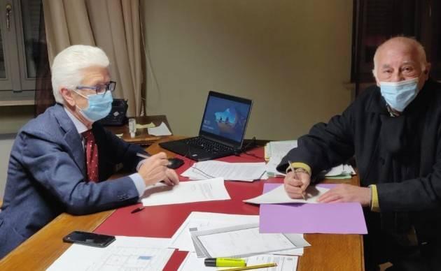 Firmato l'accordo per i servizi di polizia locale tra Sergnano e Offanengo