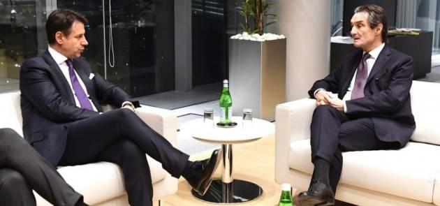 FONTANA '' GOVERNO ELIMINI ZONE E COLORI''