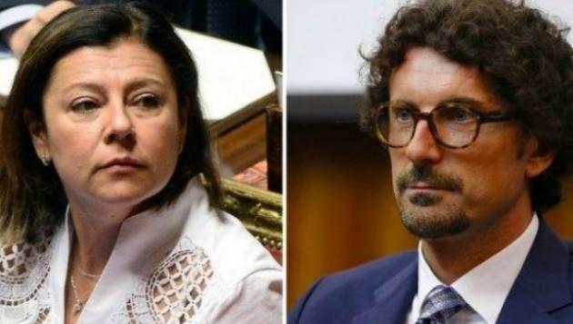 GOVERNO: ONLIT, DI DE MICHELI E TONINELLI NON SENTIREMO MANCANZA  | D. Balotta