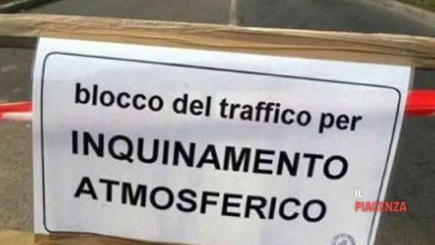 Piacenza Sforamento livelli Pm10, misure emergenziali il 4 ed il 5 febbraio