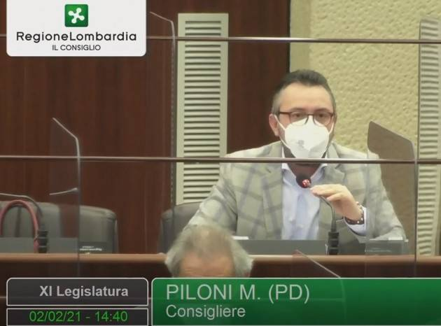 Matteo Piloni (PD) Perché Fontana si deve dimettere (Video)