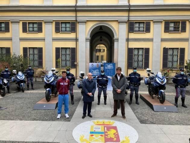 Consegnate 4 moto MV Agusta alla polizia di Milano