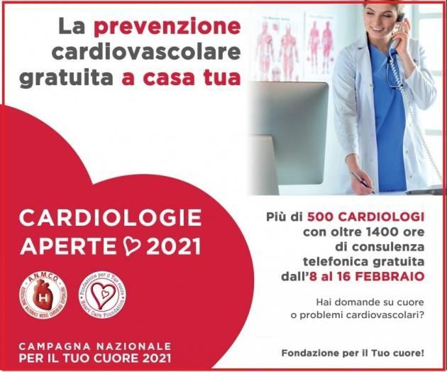 CARDIOLOGIE APERTE 2021 L'ASST Crema aderisce 'Settimana per il Tuo cuore'