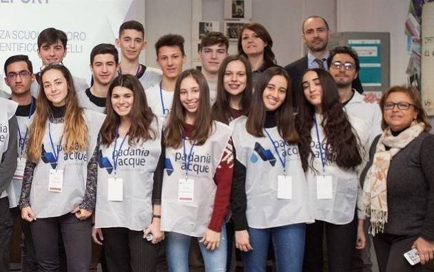 Cremona Padania Acque Drinking Water Al via progetto 2.0 alternanza scuolalavoro