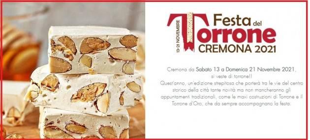 CREMONA, dal 13 al 21 novembre 2021FESTA DEL TORRONE