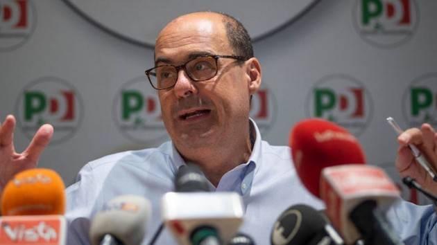 Governo, dal veto all'alleanza Pd-Lega. Zingaretti: ''Spirito unitario porterà a grandi vittorie''