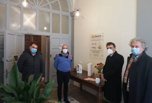 Signoroni: Visita all'Ente di formazione 'InChiostro' a Soncino