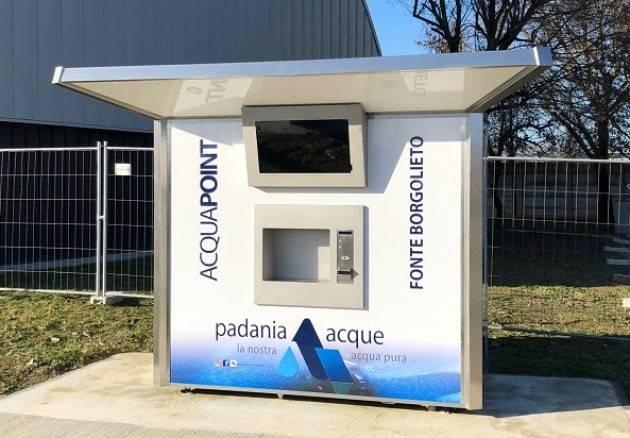 Padania Acque a Gussola, è aperta la casa dell'acqua 'Fonte Borgolieto'