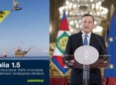Le richieste di Greenpeace a Draghi per un Paese 100% rinnovabile: farebbe bene a clima, ambiente, lavoro ed economia
