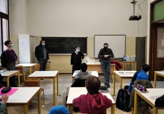 UST Cremona Il provveditore Fabio Molinari in visita alle scuole della città